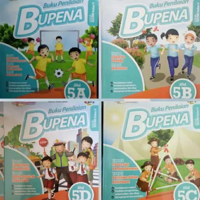 Bupena 5 B C D E Buku Penilaian Tematik K13 5a 5b 5c 5d Erlangga Shopee Indonesia