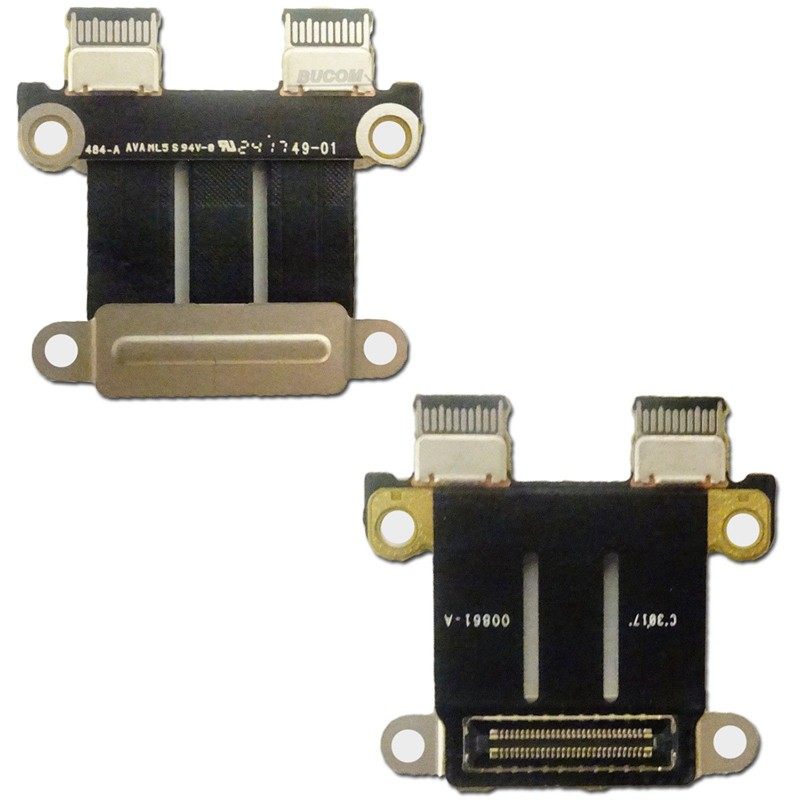 "DC Power Jack I//O Board for Macbook Pro 13/"" 15/"" A1706//A1707//A1708 2016 USB-C"