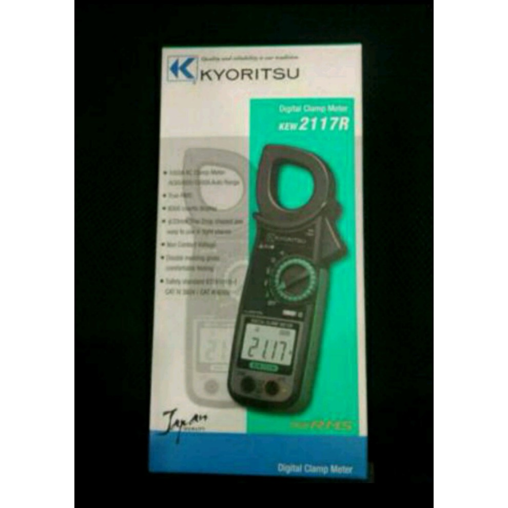 Limited Kyoritsu Kew2007r True Rms Digital Clamp Meter 1000a Tang Ampere 2002pa 2007a Shopee Indonesia