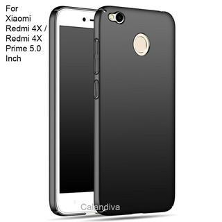 Calandiva 360 Degree Protection Slim HardCase for Xiaomi Redmi 4X, Redmi 4X Prime 5.0 inch - Hitam | Shopee Indonesia