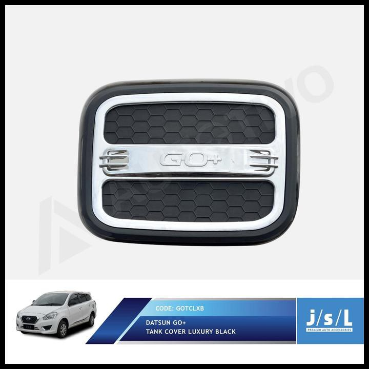 Promo Datsun GO Cover Tutup Bensin JSL/Tank Cover Luxury Black QR0949   Shopee Indonesia
