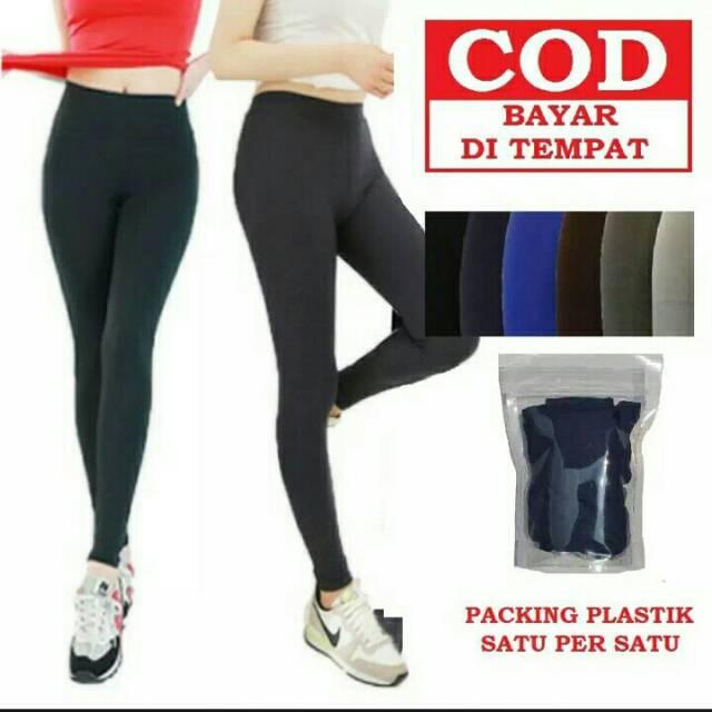 Celana Legging Bahan Spandex Standar Shopee Indonesia