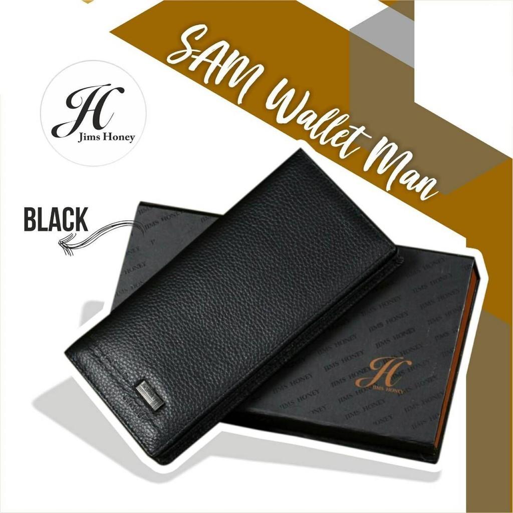 Jims Honey Sam Wallet Dompet Cowok Import Murah Shopee Indonesia Stella