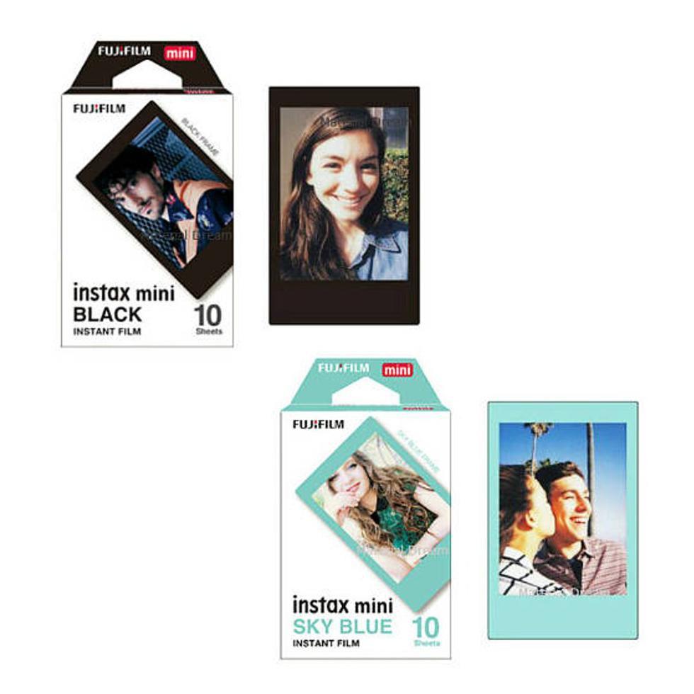 Fujifilm Refill Instax Mini Film Sky Blue 10 Lembar Shopee Indonesia Wide Twinpack Plain 20