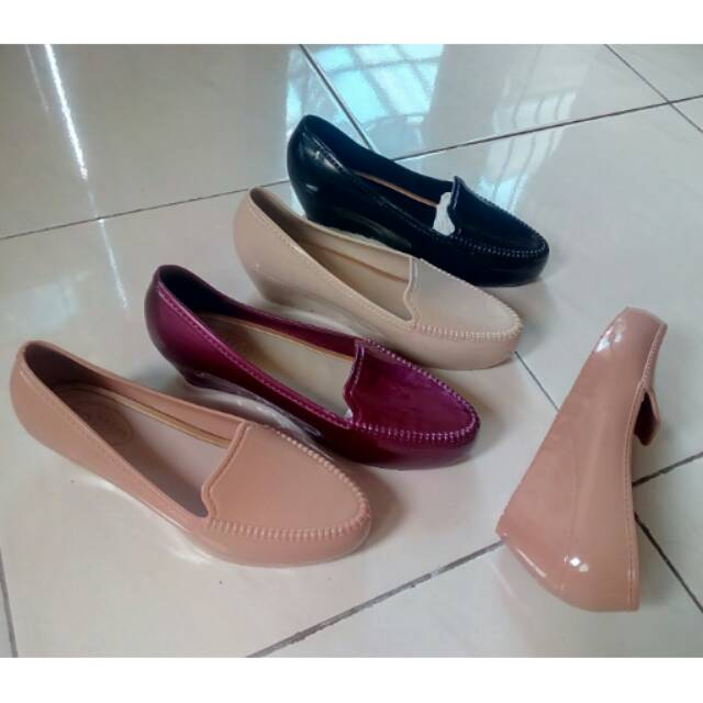 Jelly Shoes Wedges C