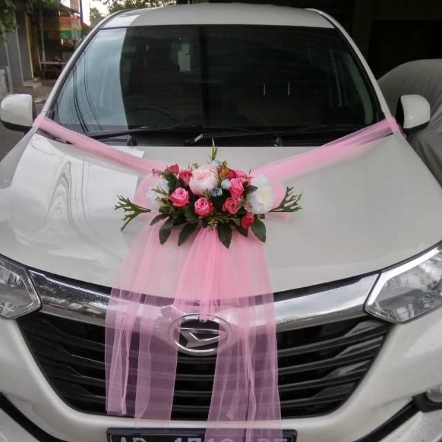 Dekorasi Mobil Pengantin Wedding Car Decoration Hiasan Mobil