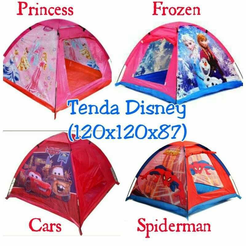 Terbaru Tenda Anak Terowongan Karakter Hello Kitty Frozen Little Pony Lokal 120 140 160 200cm | Shopee Indonesia