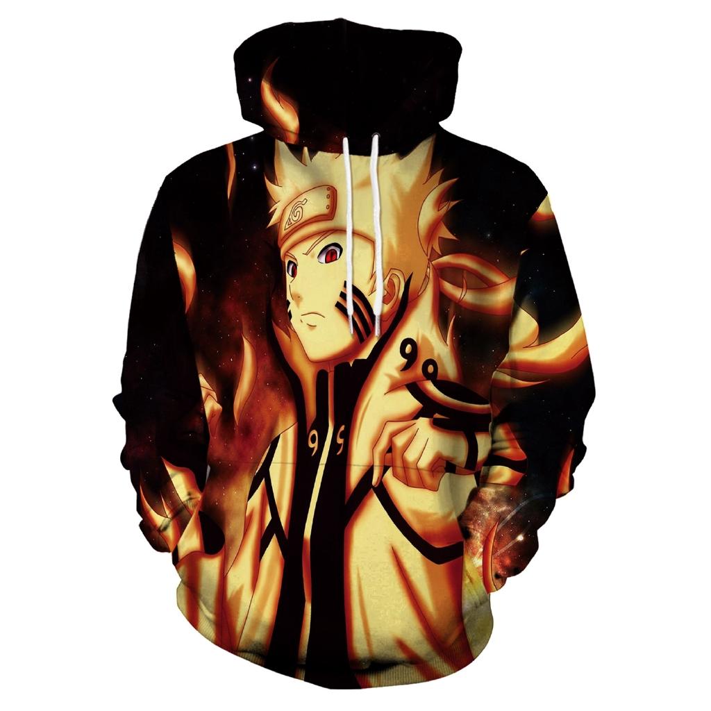 Berkerudung Sweater Laki Laki 2020 Karakter Anime Baru Naruto Naruto Sasuke 3d Pencetakan Digital Er Shopee Indonesia