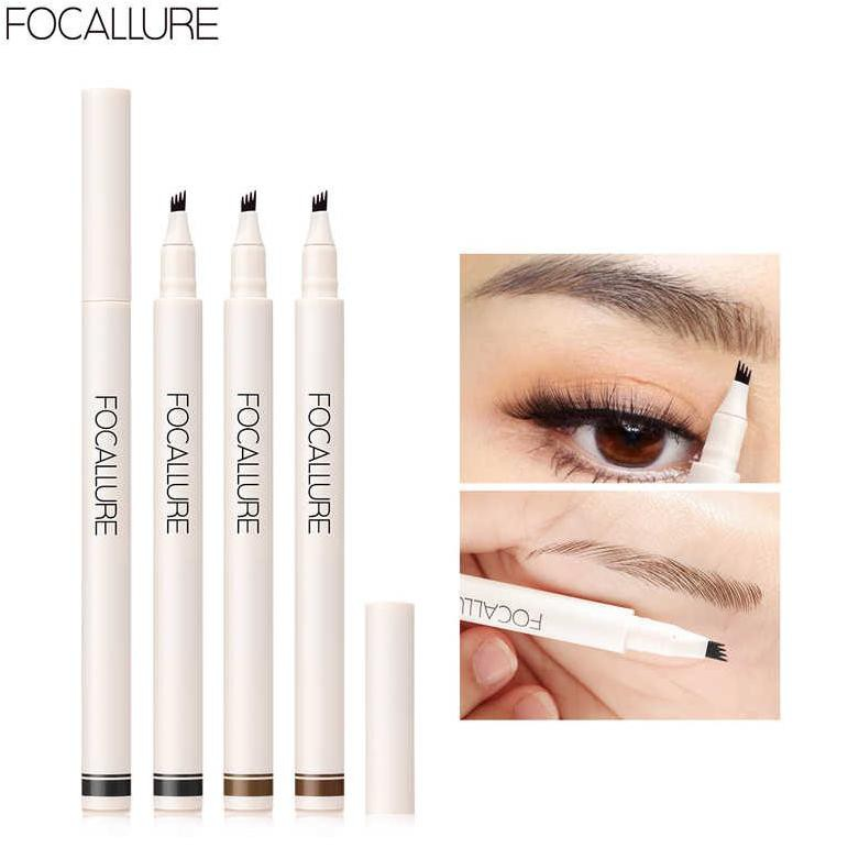 Focallure Fluffmax Tinted Brow Pensil Alis Focallure Eyebrow Pencil Eyebrow Focallure Eyebrow Matic Shopee Indonesia