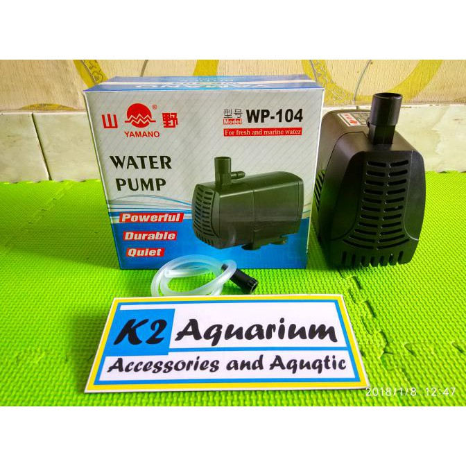 Big Sale ATMAN AT-104 Pompa Celup Aquarium Kolam Submersible Water Pump Terbaik hanya di | Shopee Indonesia