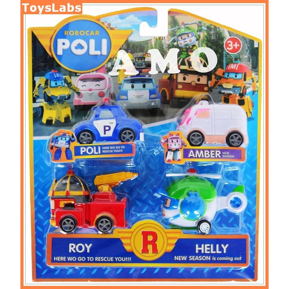 Tme Robocar Poli Mika Isi 4 Pcs Daftar Harga Terbaru Dan Terupdate Mainan 1 Set Anak
