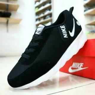 Sepatu Anak Adidas Neo Full Black Sepatu Sekolah Anak Full Hitam