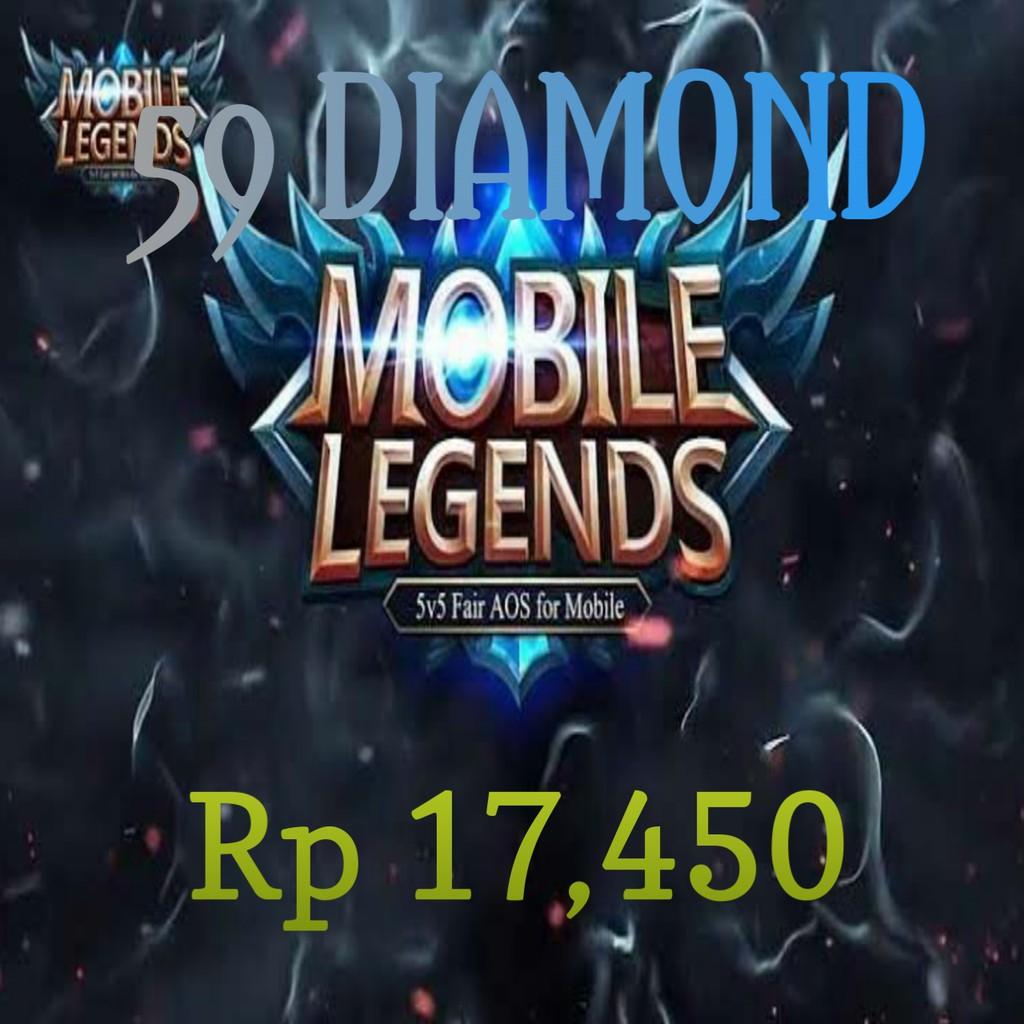 DIAMOND ML TERMURAH - TOPUP DM ML MURAH - ML TOPUP - ISI DM ML - DIAMOND #5