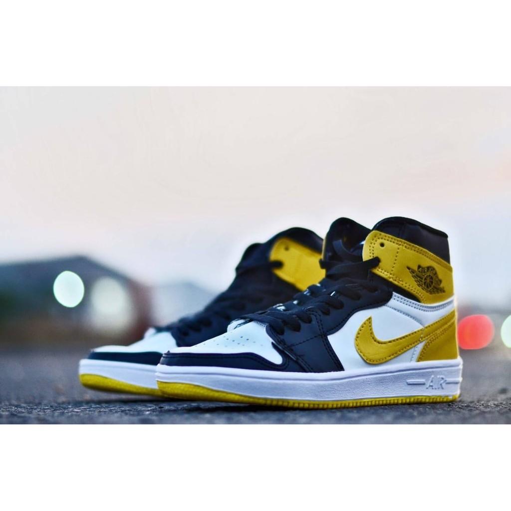 sepatu sport casual nike air jordan 1 retro sneakers 2019 new unisex size 37 44