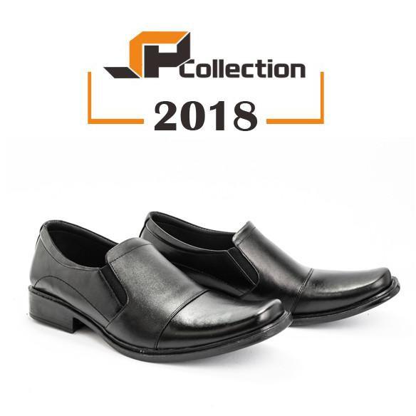 Sepatu Pantofel Model Terbaru 2018 Bahan Kulit Sapi Asli Cocok Untuk Segala  Kegiatan  f4258c2b3d