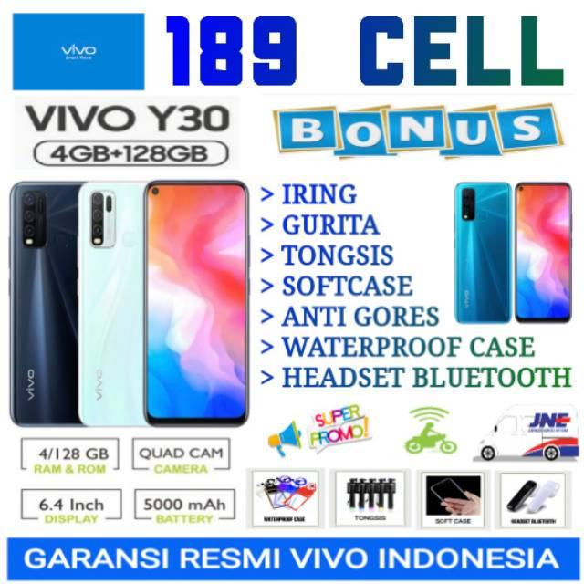 VIVO Y30 RAM 4/128 GB GARANSI RESMI VIVO INDONESIA ...