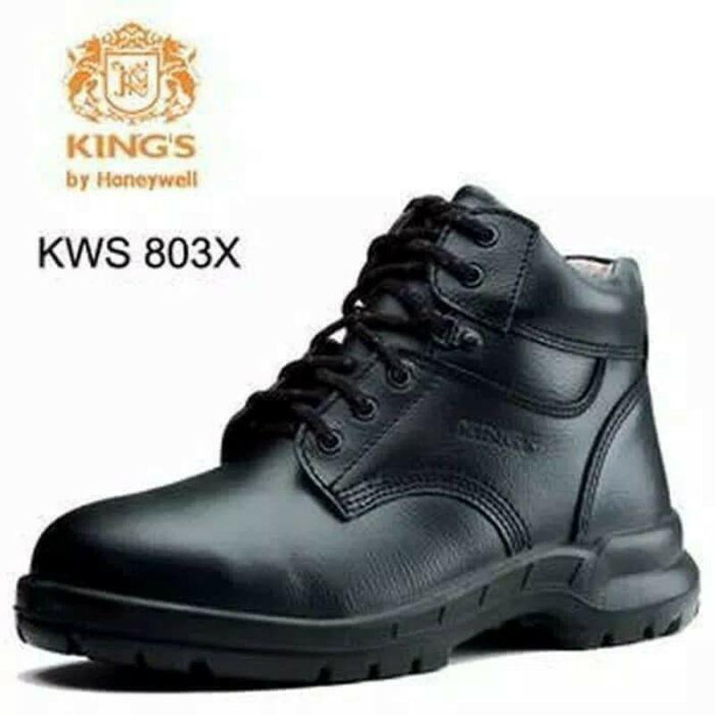 Sepatu Safety King KWS 803 X Original / Sepatu Kerja Kings Safety Pria Kulit Asli