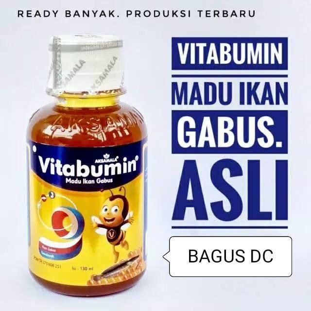 Madu Albumin Anak Vitabumin Ekstrak Ikan Gabus Asli / Original   Shopee Indonesia