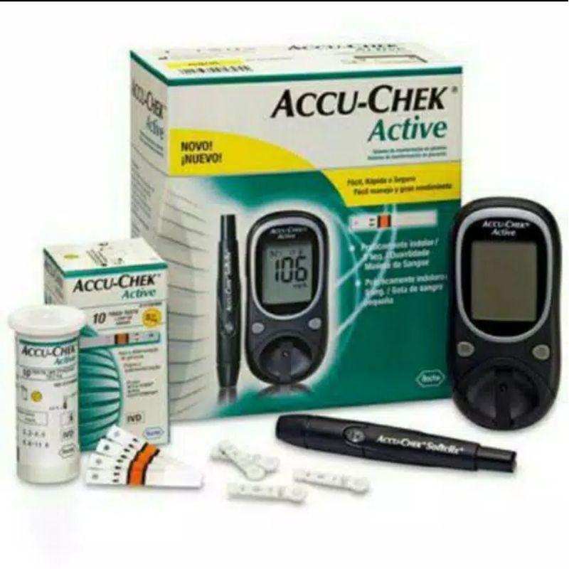Alat check darah gula Accu-check active