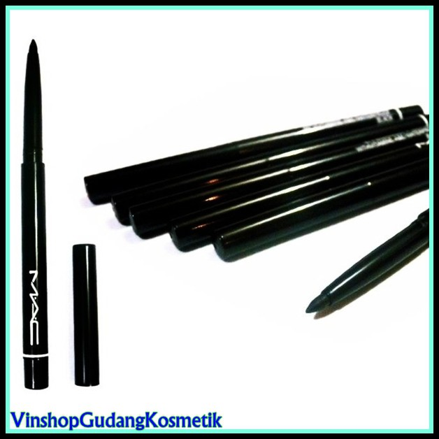 MAC eyeliner Pencil - Pensil Alis MAC Hitam .
