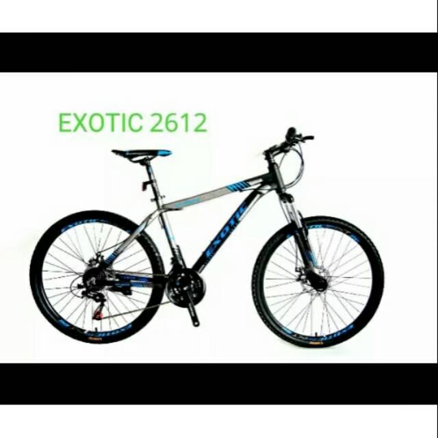Sepeda Gunung MTB Exotic ET2612 Uk 26 Inci Keren Murah