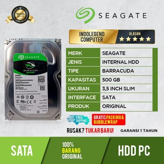 HDD SEAGATE 500GB SATA PC 3.5