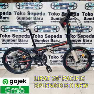 SEPEDA LIPAT PACIFIC SPLENDID 3.0 7 SPEED FOLDING BIKE 20