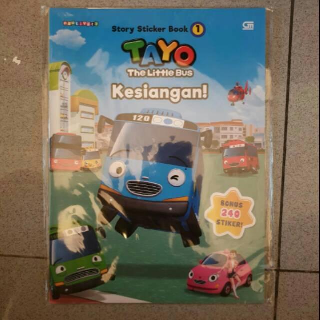 Tayo The Little Bus Kesiangan Shopee Indonesia