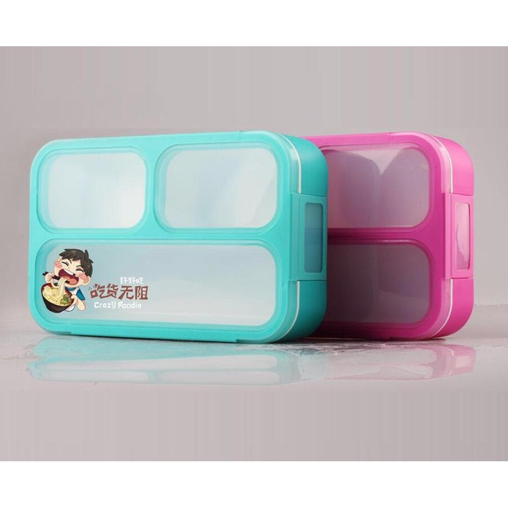 Kotak Makan Yooyee 4 Sekat Lunch Box Sup 415 Shopee Indonesia Item
