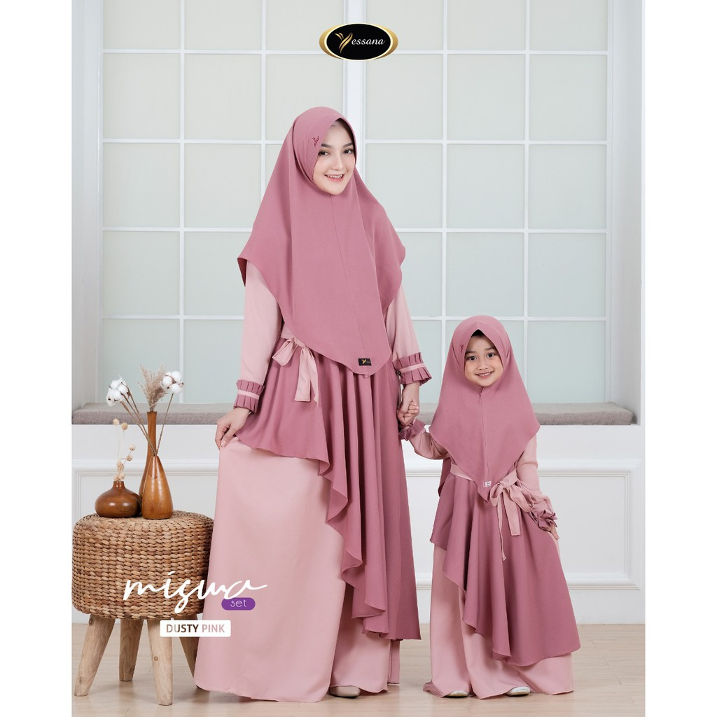DRESS MUSLIM / MISWA DRESS BY YESSANA