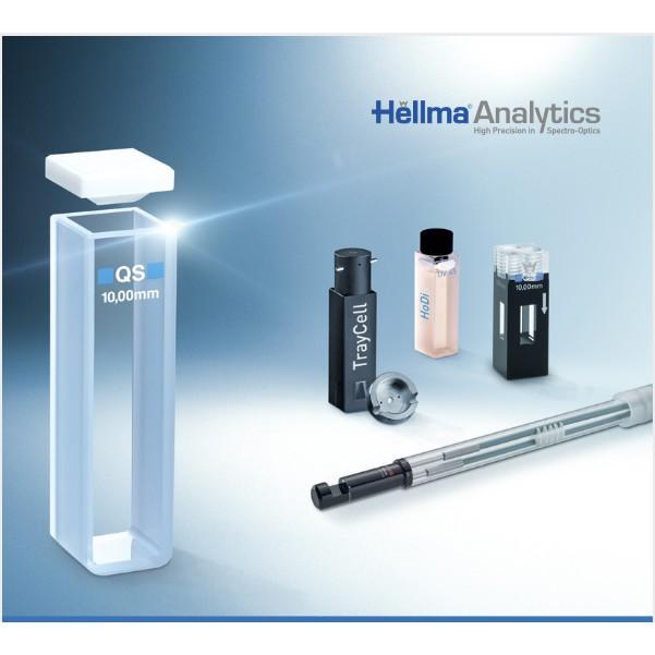 Hellma Cuvette Quartz Suprasil Glass 10 mm Volume 3.5ml cat 100-10-40 - Termurah - Best Seller