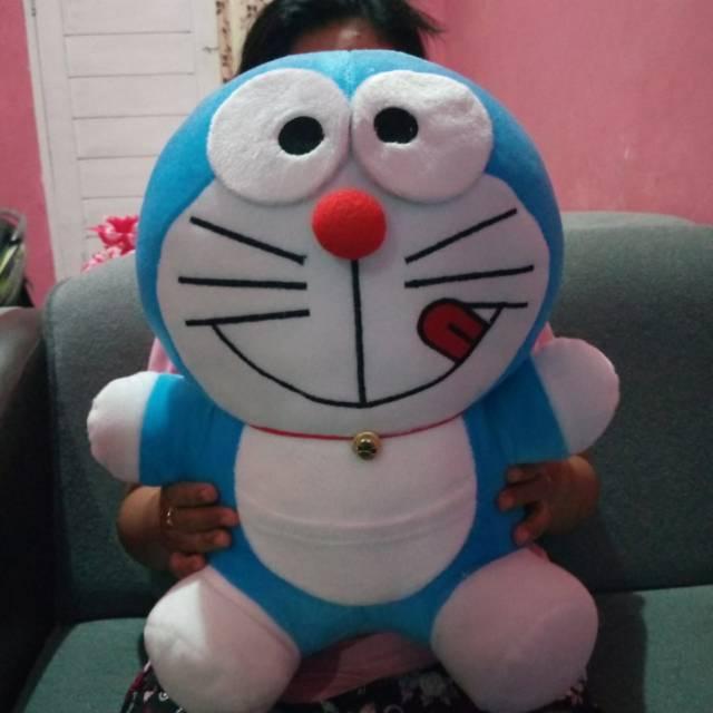 Boneka Doraemon 35 Cm Boneka Boneka Dora Emon Boneka Mainan Mainan Souvenir Kado Shopee Indonesia