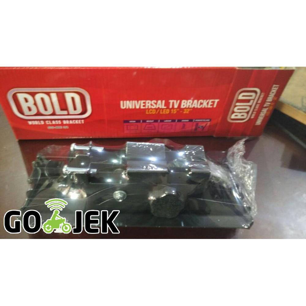 Braket Breket Bracket Mount Tv Lcd Led 32 40 Merk Panasonic 15 Sd Inch Paling Laris Shopee Indonesia