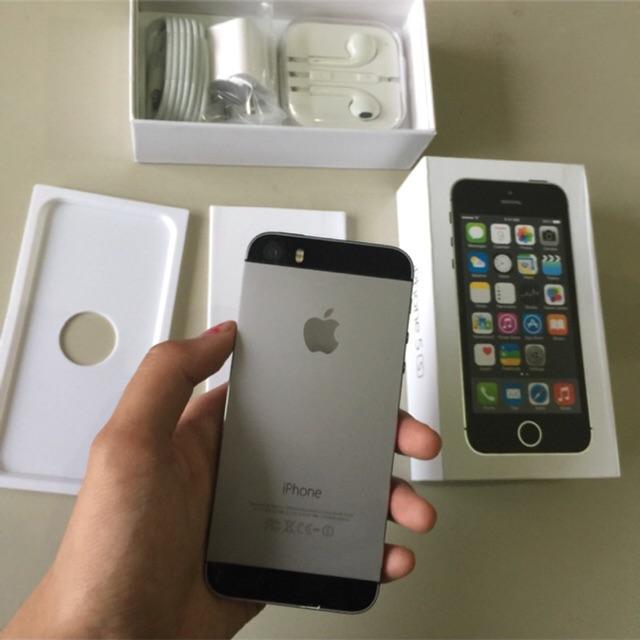 Original Iphone 5s Grey Second 16gb 32gb 64gb Ex Inter Shopee