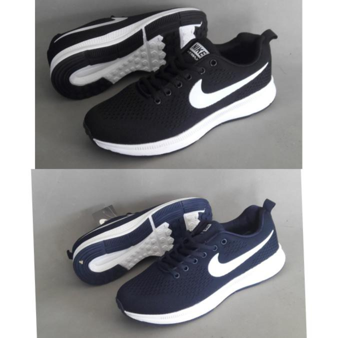 Sepatu Pria Olahraga Running Nike Flyknit Racer Premium  c5aab45084