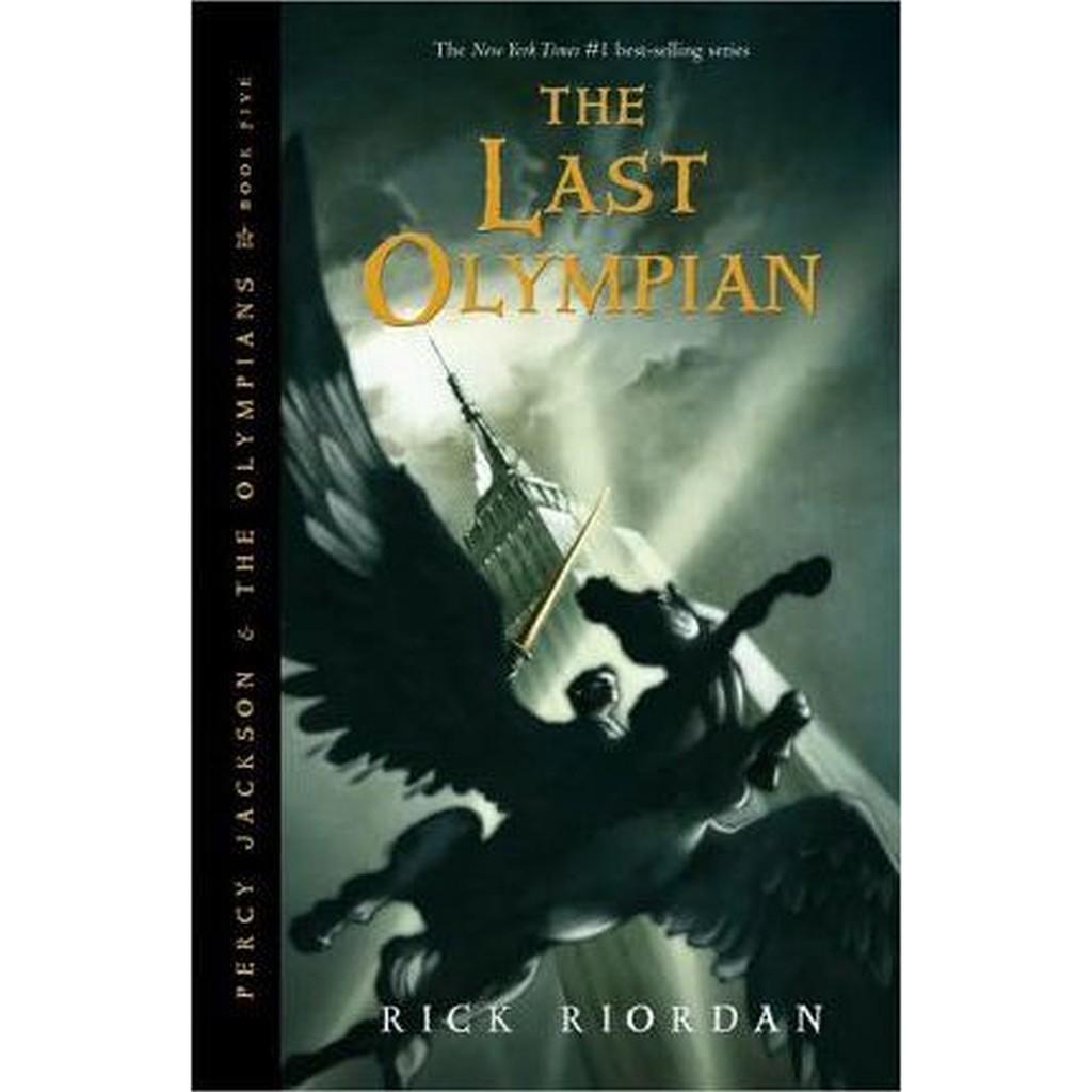 Import Book Percy Jackson The Olympians 5 The Last Olympian Ssb Shopee Indonesia