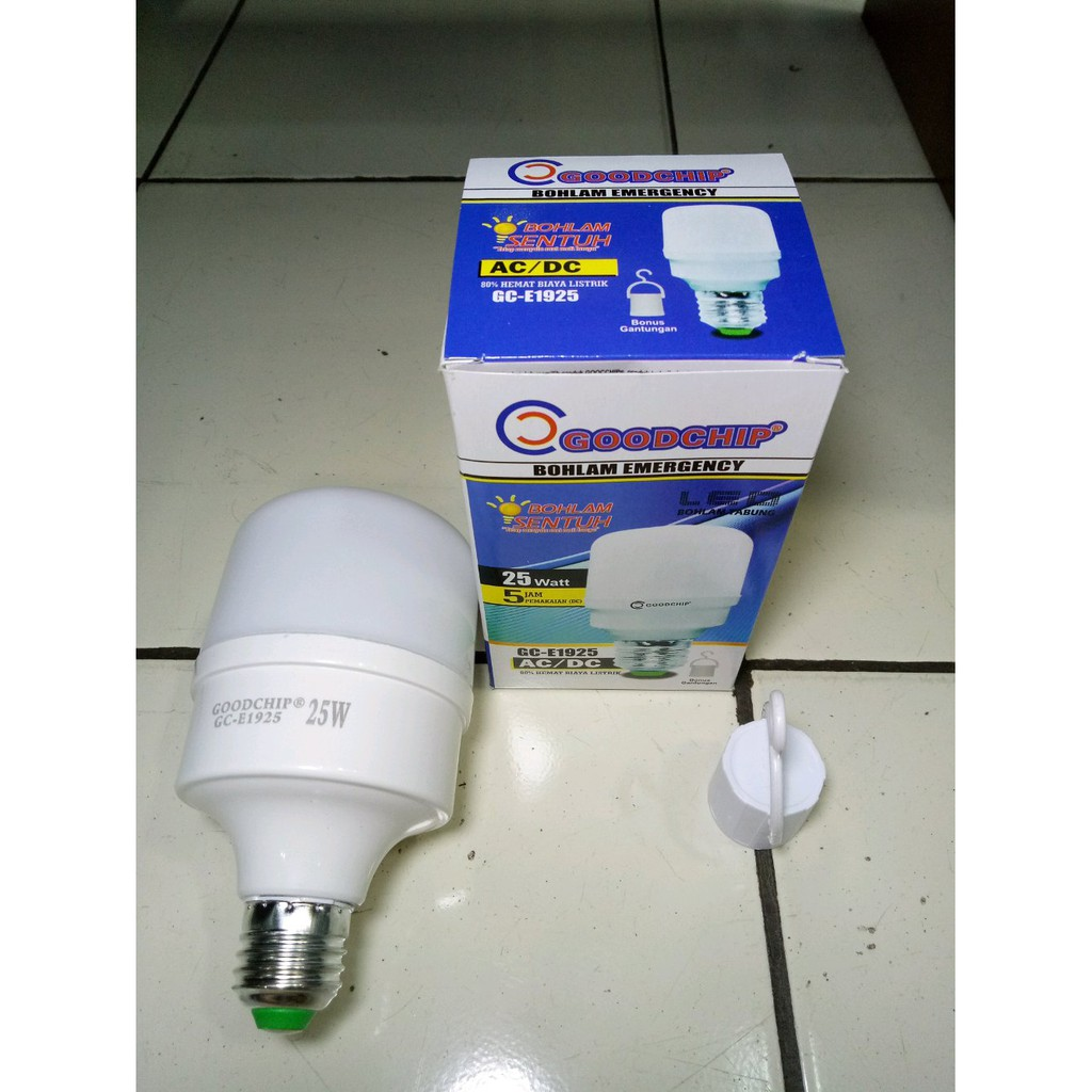 Shuangxiong Bohlam Led Sentuh 15 Watt Emergency On Off Lampu Ajaib 21watt Shopee Indonesia