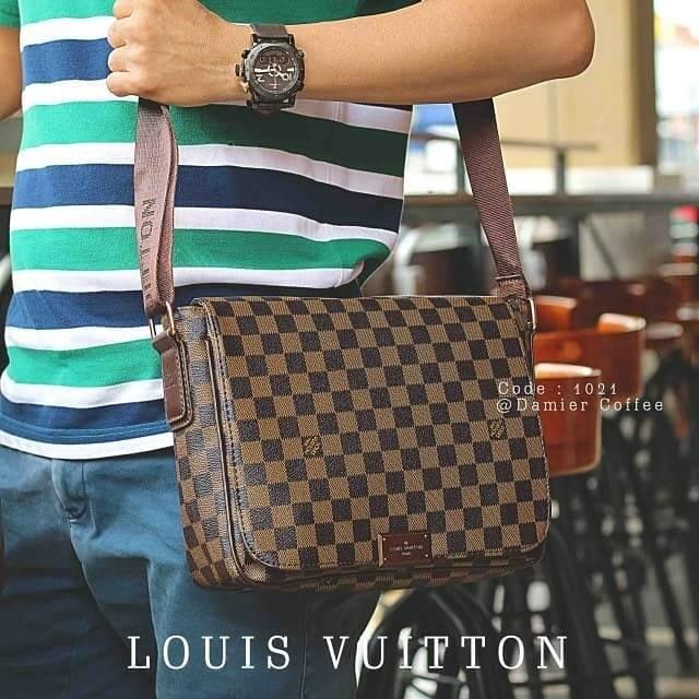 08a90ba4c292 Tas Louis Vuitton Brooklyn PM Damier Ebene P51210