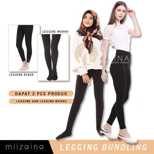 Bundling Legging Dan Legging Wudhu Jempol Premium Bahan Kaos Tebal Dan Adem Shopee Indonesia