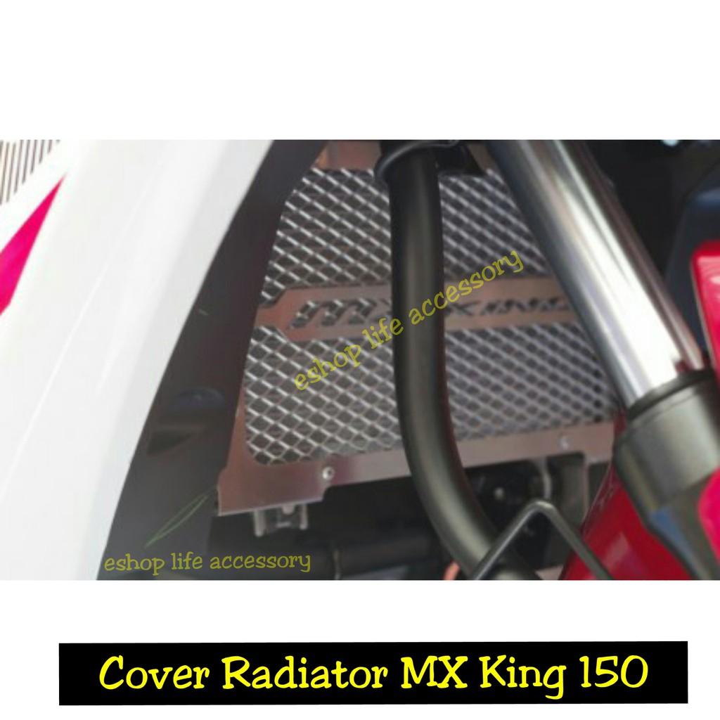 Gold Cover Tutup Radiator Pelindung Honda Vario 125 150 Iss Esp Knalpot Rpm Source New Vixion Advance