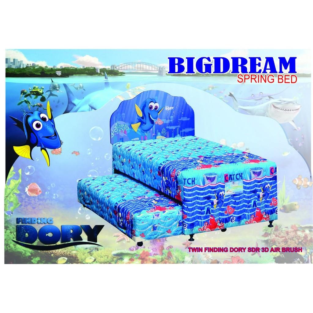 Big Dream Spring Bed 2 In 1 Karakter Barbie 100 Full Set Shopee Kasur Uniland Paradise Box Magnolia 120x200 Tanpa Divan Sandaran Jadebotabek Only Indonesia