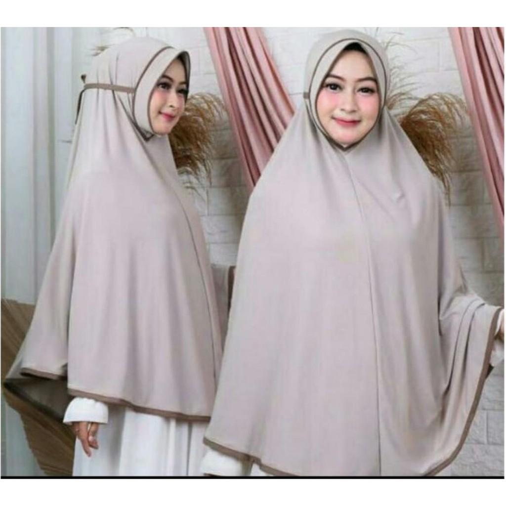 Kerudung Instan Jersey Hijab Instan Bergo Jilbab Syari Jersey Kerudung Terbaru Hijab Jumbo Shopee Indonesia