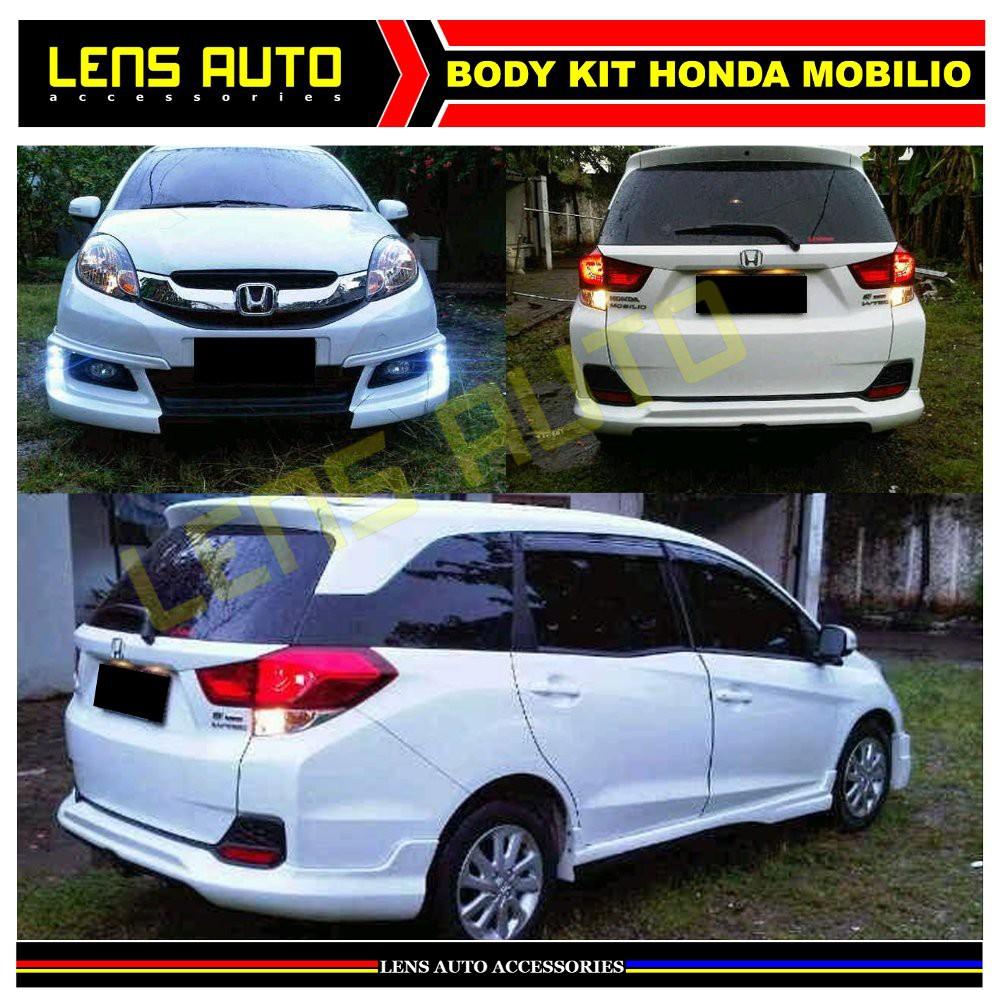 La Bodykit Mobilio Model Rs Body Kit Honda Mobilio Top Shopee