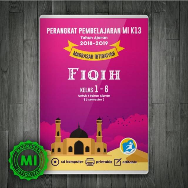 Cd Rpp Fiqih Mi Kelas 1 6 Kurikulum 2013 Revisi Terbaru Lengkap Untuk 2 Semester Shopee Indonesia