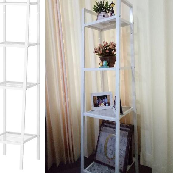 New Rak Besi Baja 4 Susun Unit Shelf