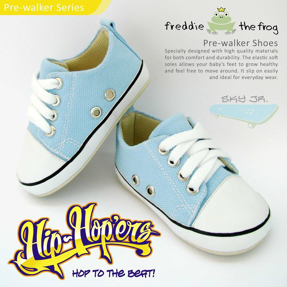 Prewalker Sepatu Bayi Freddie The Frog My Style Shoes Tony Sparkly Grey Accesories Carnations Series Shopee Indonesia