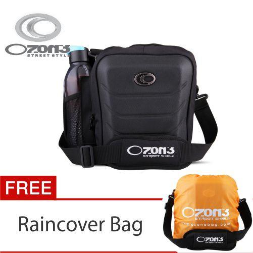 Tas Selempang Netbook- Ipad OZONE 740 + Raincover [HITAM]   Shopee Indonesia