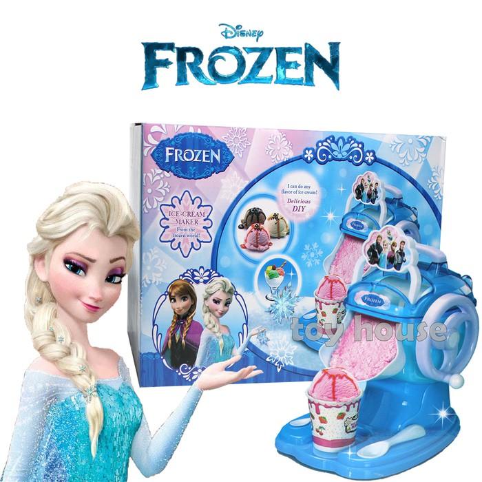 Mainan Anak Hello Kitty Frozen Ice Cream Maker Pembuat Ice Cream Shopee Indonesia