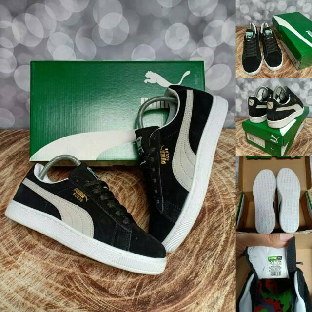 Sepatu NIKE SB Stefan Janoski Black White Hitam Putih Kulit Suede ... ace21f78be