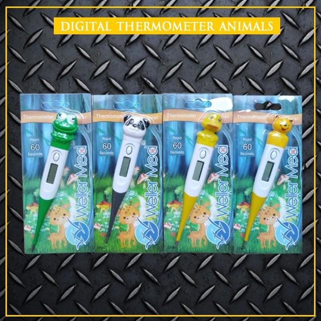 Termometer / Thermometer Badan Digital (Alat Deteksi Suhu)KARAKTER | Shopee Indonesia